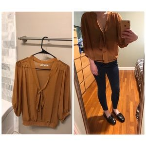 Never worn, Swoop-neck Blouse